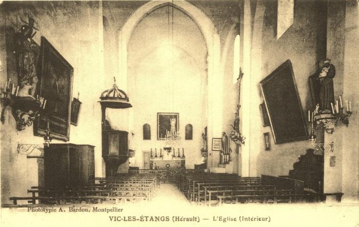 04 - Vic-les étangs -L'Eglise