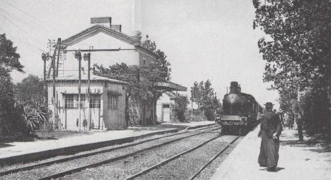 08 - Vic-les étangs- Gare- Abbé Rouquette-début du XXè